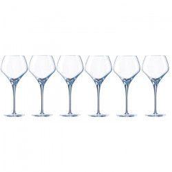 CHEF ET SOMMELIER Lot de 6 verres a vin OPEN`UP - 37 cl