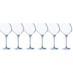 CHEF ET SOMMELIER Lot de 6 verres a vin OPEN`UP - 47 cl