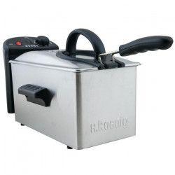 H.KoeNIG DFX300 Friteuse électrique semi-professionnelle - Inox