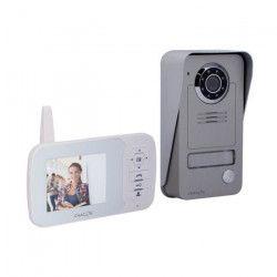 CHACON Visiophone 34817 sans fil digital 2,4 GHz avec écran LCD 3,5`