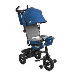 SWIFT Tricycle - 3 roues - Poussette évolutif - Bleu