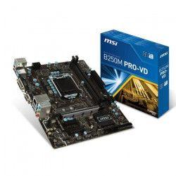 MSI Carte mere B250M PRO-VD - Socket LGA 1151 - DDR4