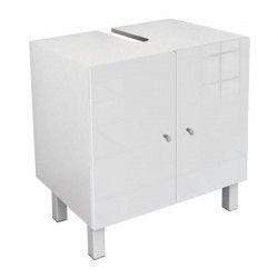 CORAIL Meuble sous-lavabo L 60 cm - Blanc laqué