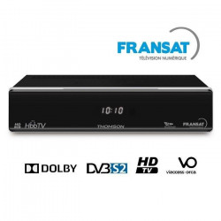 THOMSON THS 805 Décodeur TNT HD satellite FRANSAT HD