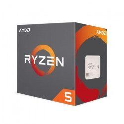 AMD Processeur Ryzen 5 1500X avec refroidisseur Wraith Spire - 65W - 3,5GHz - Turbo 3,7GHz - Socket AM4 -