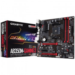 Gigabyte Carte mere GA-AB350M-Gaming 3 - AMD B350 - Socket AM4 - DDR4 - 3200 MHz - 64 Go - GA-AB350M-Gaming 3