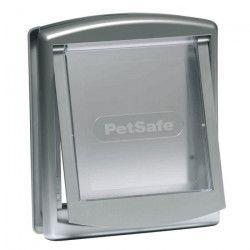 PETSAFE Porte Staywell a 2 positions - Gris - Pour chat jusqu`a 18 kg