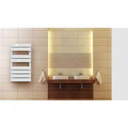 CAYENNE Demis 600 watts - Radiateur Seche-serviettes électrique - Barres plates