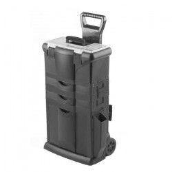 TOOD Servante boite a outils 2 tiroirs 46x33x74 cm