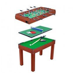 OCIOTRENDS - Table multi-jeux 3 en 1