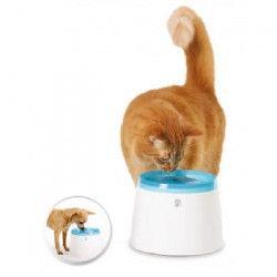 Fontaine a eau compacte pour chat 2 L