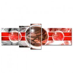 Tableau Déco Design Abstrait univers - 160x60 cm