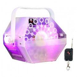 IBIZA LIGHT LBM10-CLEAR Machine a bulles portable - Blanc