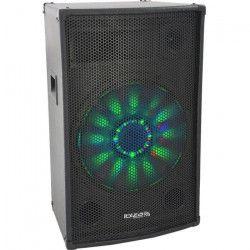 IBIZA X-LED15 Enceinte sono 3 voies 38cm 700W