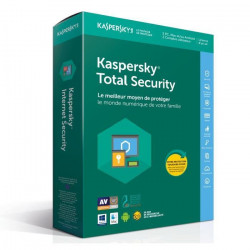 KASPERSKY Total Security 2018 - 5 Postes / 1 An