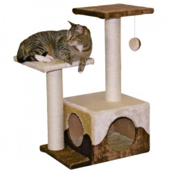 KERBL Arbre a chat Saphir - Hauteur 70cm - Brun et beige