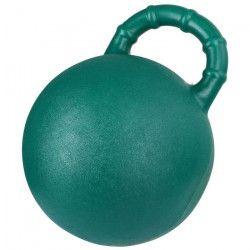 KERBL Balle a jouer 25cm - Vert et pomme - Pour cheval
