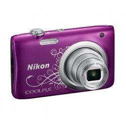 NIKON COOLPIX A100 Violet - 20,1 mégapixels - Zoom NIKKOR - Appareil photo compact
