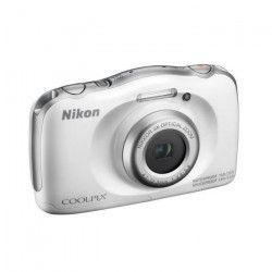 NIKON COOLPIX W100 - Appareil photo numérique compact - Résolution de 13,2Mp - Vidéo Full HD - Etanche jusqu`a