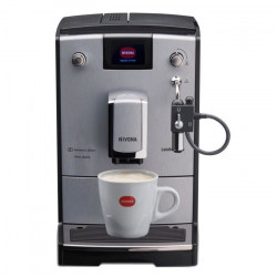 NIVONA NICR670 Machine expresso full automatique avec broyeur Cafe Romatica - Gris