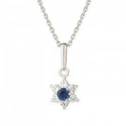OR ECLAT Collier Or Blanc 375° Femme