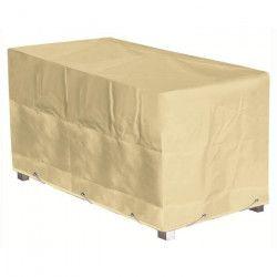 GREEN CLUB Housse de protection pour table - 240x100x65 cm - Beige
