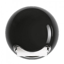 SPIRELLA Distributeur papier WC Bowl - 18,5x18,5x16,5cm - Noir