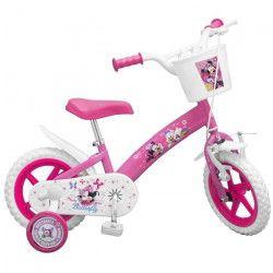 Vélo 12` Minnie - Fille - Rose
