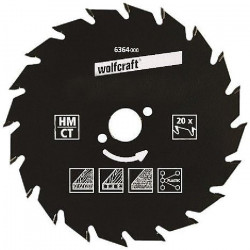 WOLFCRAFT Lame scie circulaire CT - 30 dents - Ø 200 x 30 mm