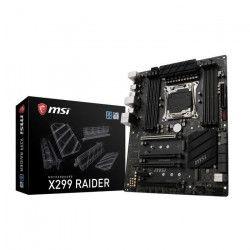 MSI Carte mere INTEL X299 RAIDER - Socket 2066 - DDR4 - 4266+(OC) Mhz