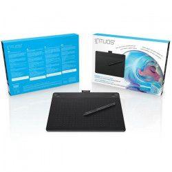 Wacom Tablette Graphique Intuos Art Black Pen & Touch Medium - Surface active 216 x 135 mm