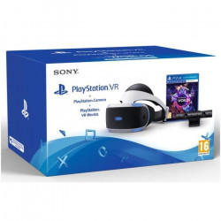 PlayStation VR + PlayStation Caméra + VR Worlds Jeu VR (Voucher)