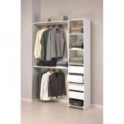 SKIRT Kit dressing contemporain blanc - L 141 cm