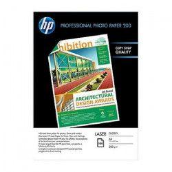 HP Papier Photo Brillant Laser 200 GSM - 100 feuilles - A4 - 210 x 297 mm