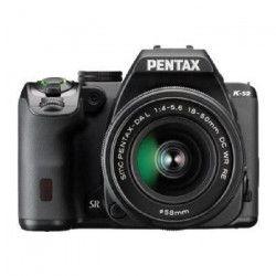 Pentax K-S2 Reflex Débutant + DAL 18/50 WR Noir