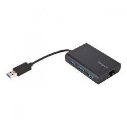 TARGUS HUB USB 3.0 avec Ethernet GigaBit - Noir
