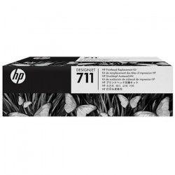 HP - 1 Tete d`impression 711 - Multicolor