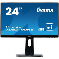 iiYama Ecran Prolite XUB2492HSU-B1 24` FULL HD 1920 x 1080 - Dalle IPS - LED