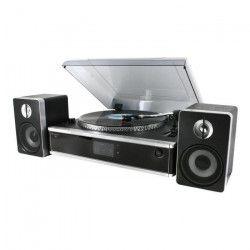 SOUNDMASTER PL875USB Lecteur disque semi-automatique + CD / MP3 - Noir