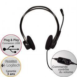Logitech casque filaire USB - 960