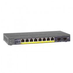 NETGEAR Prosafe Switch Poe 10 Ports - Noir GS110TP-200EUS