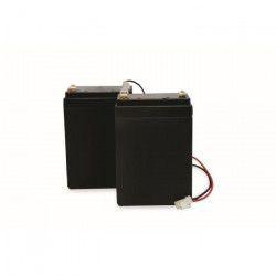 SCS SENTINEL Kit de 2 batteries de secours 2,2 AH pour motorisation