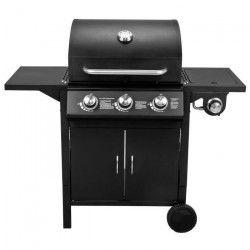 COOKINGBOX Barbecue gaz Paarl 3 feux + 1 - Acier émaillé