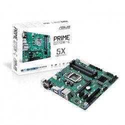 ASUS - Carte mere PRIME Q270M-C - Socket LGA 1151 - DDR4 - 2400 MHz - 64 Go - 90MB0SZ0-M0EAYM