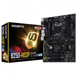Gigabyte Carte mere GA-B250-HD3P - Socket LGA 1151 - DDR4 - 2400 Hz - 64 Go