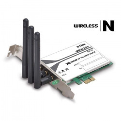 D-Link Carte réseau PCI Wifi 300 mbps DWA-556