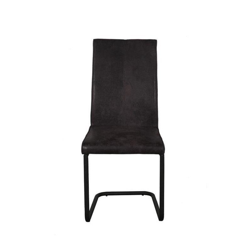 Finlandek lot de 2 chaises de salle a manger en for Salle À manger contemporaineavec lot chaises