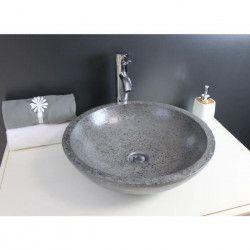 Vasque en terrazzo Petra gris
