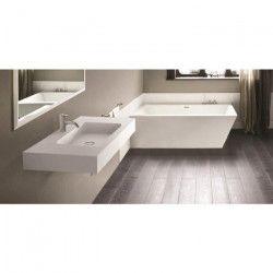 MITOLA Plan vasque rectangulaire Ibiza 80x46cm