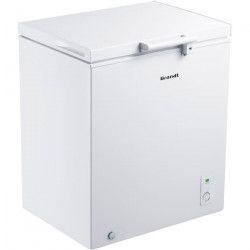 BRANDT BFK720MSW-Congélateur coffre-143 L-A+-L 70,5 x H 84,5 cm-Blanc